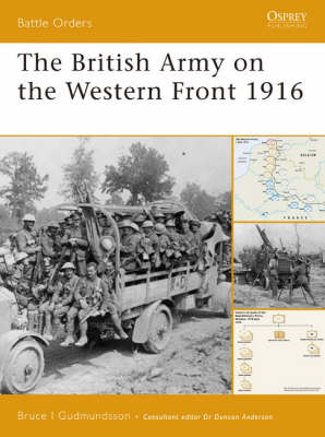 The British Army on the Western Front 1916 - Battle Orders S. No. 29 (Paperback)