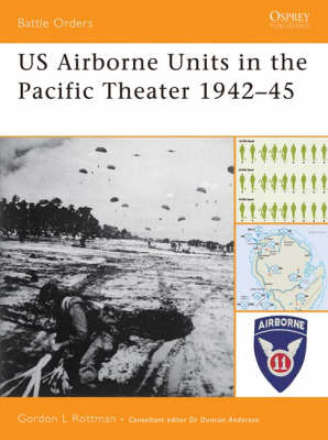 US Ariborne Units in the Pacific Theater 1942-45 - Battle Orders S. v. 26 (Paperback)