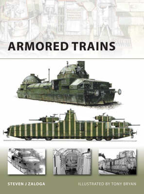 Armored Trains - New Vanguard No. 140 (Paperback)