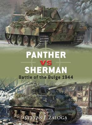 Panther Vs Sherman: Battle of the Bulge 1944 - Duel No. 13 (Paperback)