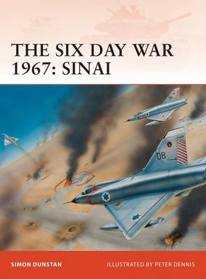 The Six Day War 1967: Sinai - Campaign No. 212 (Paperback)