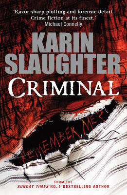 Criminal - The Will Trent Series (Hardback)