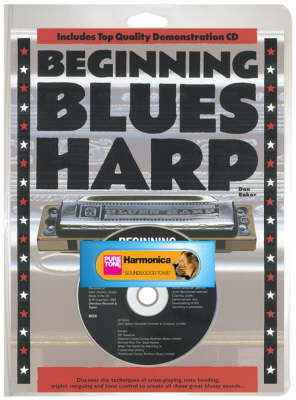 Beginning Blues Harp (Book/CD/Harmonica) (Paperback)