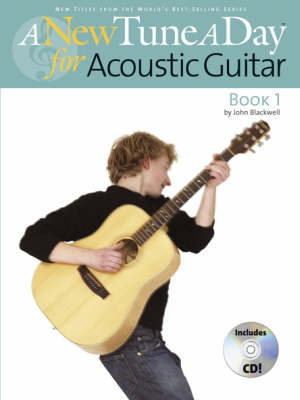 A New Tune A Day: Acoustic Guitar - Book 1 (CD Edition) (Paperback)
