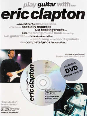 Play Guitar with... Eric Clapton (DVD Edition) - Play Guitar with... (Paperback)