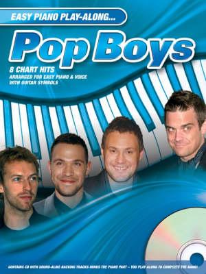 Easy Piano Play-Along: Pop Boys (Paperback)