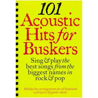 101 Acoustic Hits for Buskers (Paperback)