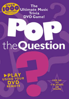 Pop the Question: The Ultimate Music Trivia DVD Game (DVD)