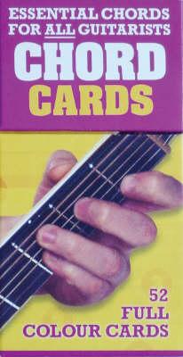 Chord Cards: 52 Essential Guitar Chords