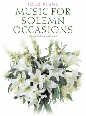 Music For Solemn Occasions (Paperback)