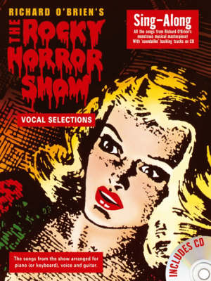 The Rocky Horror Show: Sing-Along (Paperback)