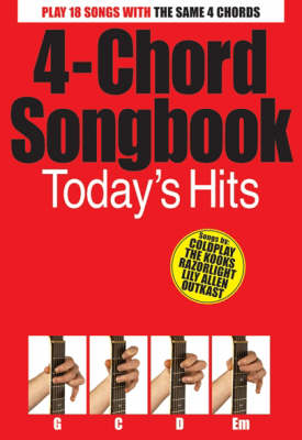 4-Chord Songbook: Today s Hits (Paperback)