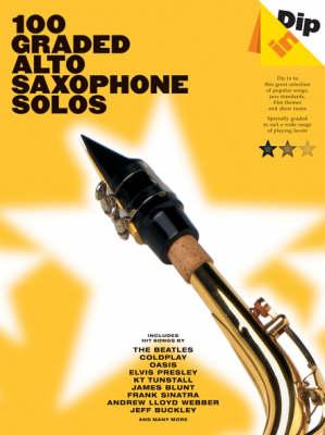 Dip In: 100 Graded Alto Sax Solos (Paperback)