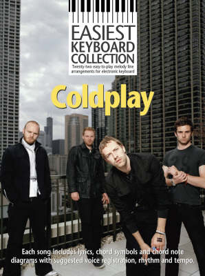 Easiest Keyboard Collection: Coldplay (Paperback)