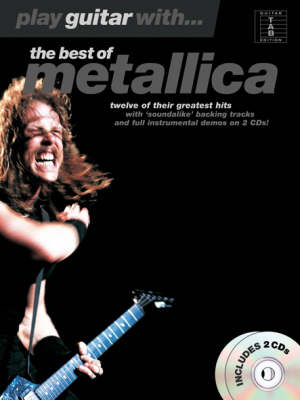 Play Guitar With... The Best Of Metallica (TAB) (Paperback)