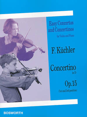 Concertino in D, Op. 15 1st and 3rd Position: Violin and Piano - Easy Concertos and Concertinos (Paperback)