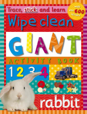 Giant Activity Book - Trace, Stick and Learn (Paperback)