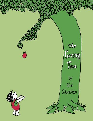 Cover of the book, The Giving Tree.