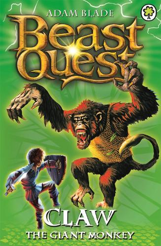 Claw the Giant Monkey: Series 2 Book 2 - Beast Quest (Paperback)