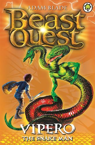 Vipero the Snake Man: Series 2 Book 4 - Beast Quest (Paperback)