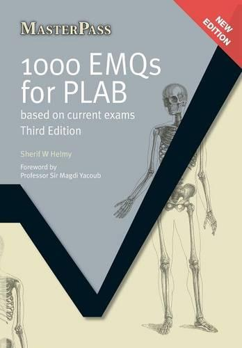 1000 EMQs for PLAB: Based on Current Exams, Third Edition - MasterPass (Paperback)
