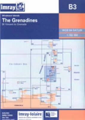 Imray Iolaire Chart B3 2007: The Granadines - St Vincent to Grenada - Imray Iolaire Chart B3 (Sheet map, folded)