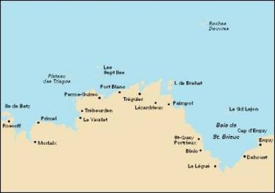 Cap D'Erquy to Ile De Batz 2007 - Imray C.Chart C34 (Sheet map)