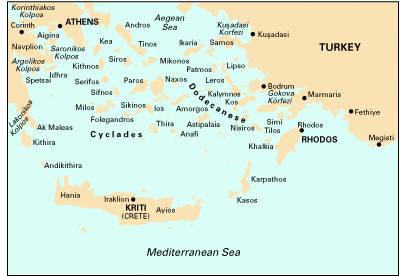 Imray Chart G3 2007: Aegean Sea South - Imray G Chart G3 (Sheet map, folded)