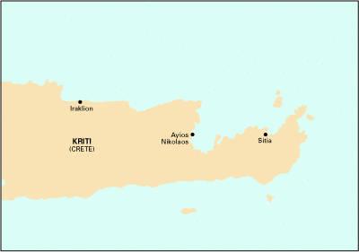 Imray chart G38 2007: Nisos Kriti (East) - Imray G Chart G38 (Sheet map, folded)