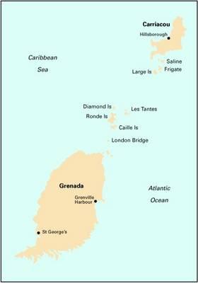 Imray Iolaire Chart B32 2009: Carriacou to Grenada