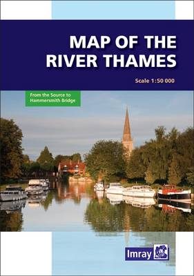 River Thames Map (Sheet map, folded)