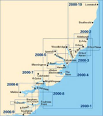 Imray Chart 2000.10: Orfordness to Lowestoft (Sheet map, folded)