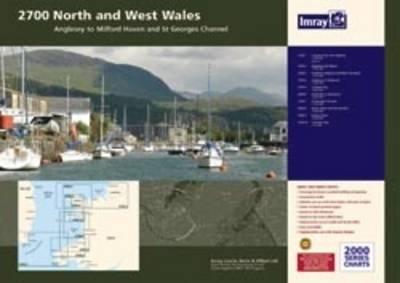 Imray Chart 2700.3: Southern Anglesey and Lleyn Peninsula (Sheet map, flat)