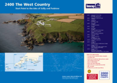 Imray Chart Pack 2400: West Country (Sheet map, flat)