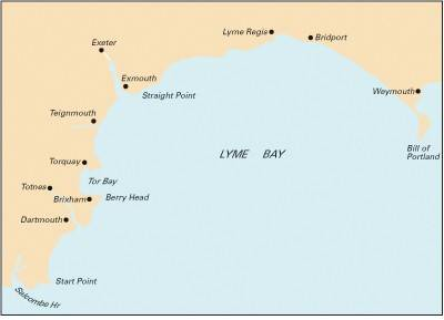 Imray Chart C5: Bill of Portland to Salcombe Harbour (Sheet map, folded)