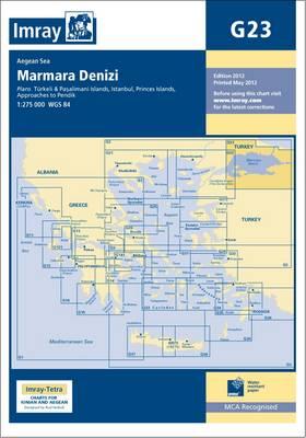 Imray Chart G23: Maramara Denizi (Sheet map, folded)