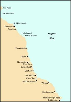 Imray Chart C24: Flamborough Head to Fife Ness (Sheet map, folded)