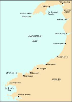 Imray Chart C51: Milford Haven to Tremadoc Bay (Sheet map, folded)