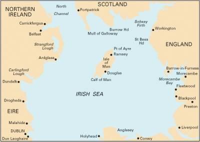 Imray Chart C62: Irish Sea (Sheet map, folded)