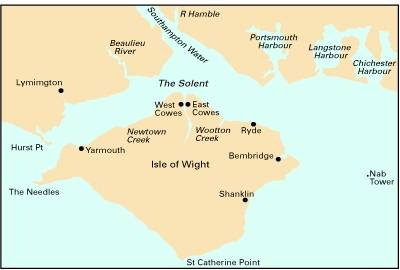 Imray Chart C3: Isle of Wight and the Solent (Sheet map, folded)