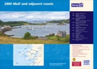 Imray Chart 2800.1 2013: Crinan to Tobermory and Fort William (Sheet map, flat)