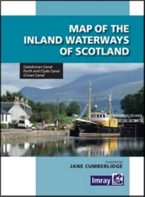 Map Inland Waterways of Scotland (Sheet map, folded)