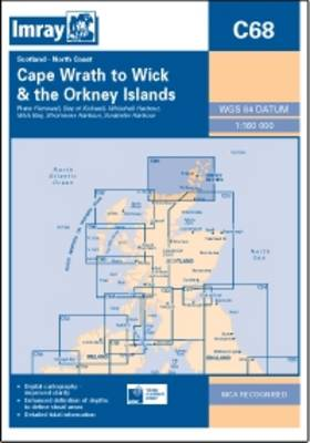 Imray Chart C68 2013: Cape Wrath to Wick and Isle of Lewis (Sheet map, folded)