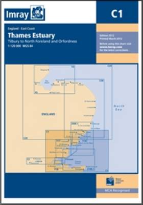 Imray Chart C1: Thames Estuary (Sheet map, folded)