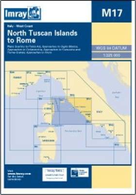 Imray Chart M17: North Tuscan Islands to Rome (Sheet map, folded)