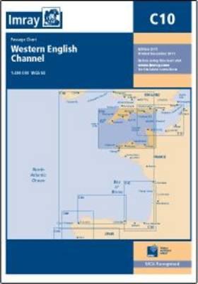 Imray Chart C10: Western English Channel Passage Chart (Sheet map, folded)