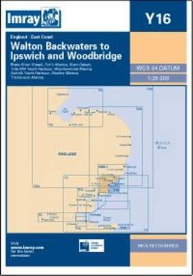 Imray Chart Y16: Walton Backwaters to Ipswich and Woodbridge (Sheet map, folded)