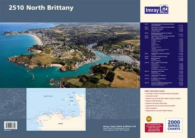 Imray Chart Pack 2510: North Brittany - 2000 Series (Paperback)
