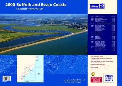 Imray Chart Pack 2000: Suffolk and Essex Chart Pack - Lowestoft to River Crouch (Sheet map, flat)