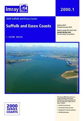 Imray Chart 2000.1: Suffolk and Essex Coasts (Sheet map, folded)